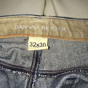 Men's Banana Republic Distressed Look Jeans